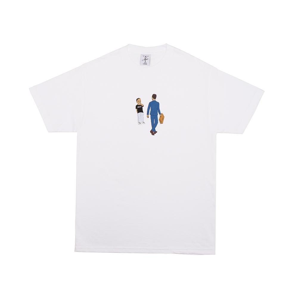 【ALLTIMERS/オールタイマーズ】LAUGHING AT OPPS TEE Tシャツ / WHITE