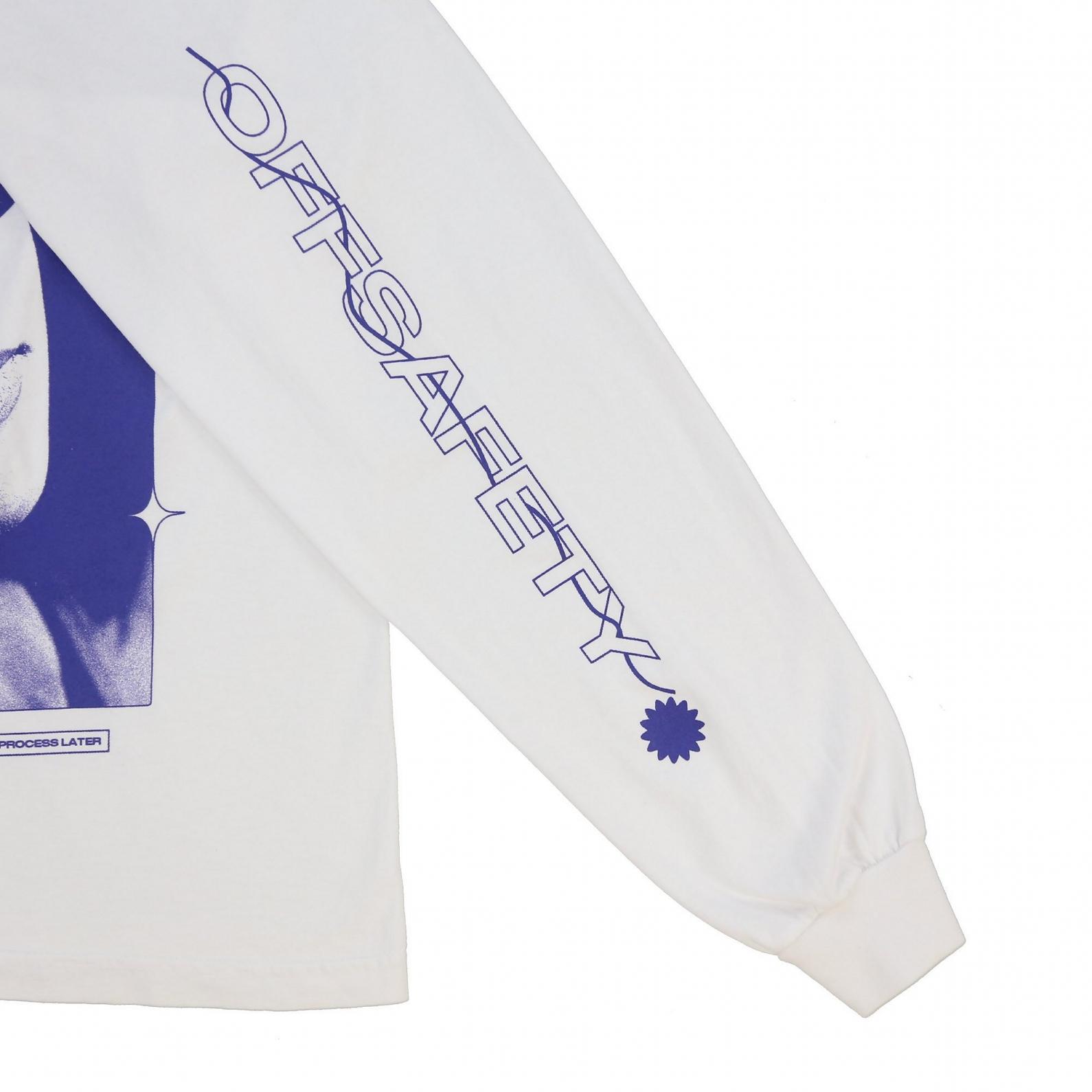 【OFF SAFETY/オフセーフティー】AALIYAH OA LS TEE 長袖Tシャツ / WHITE