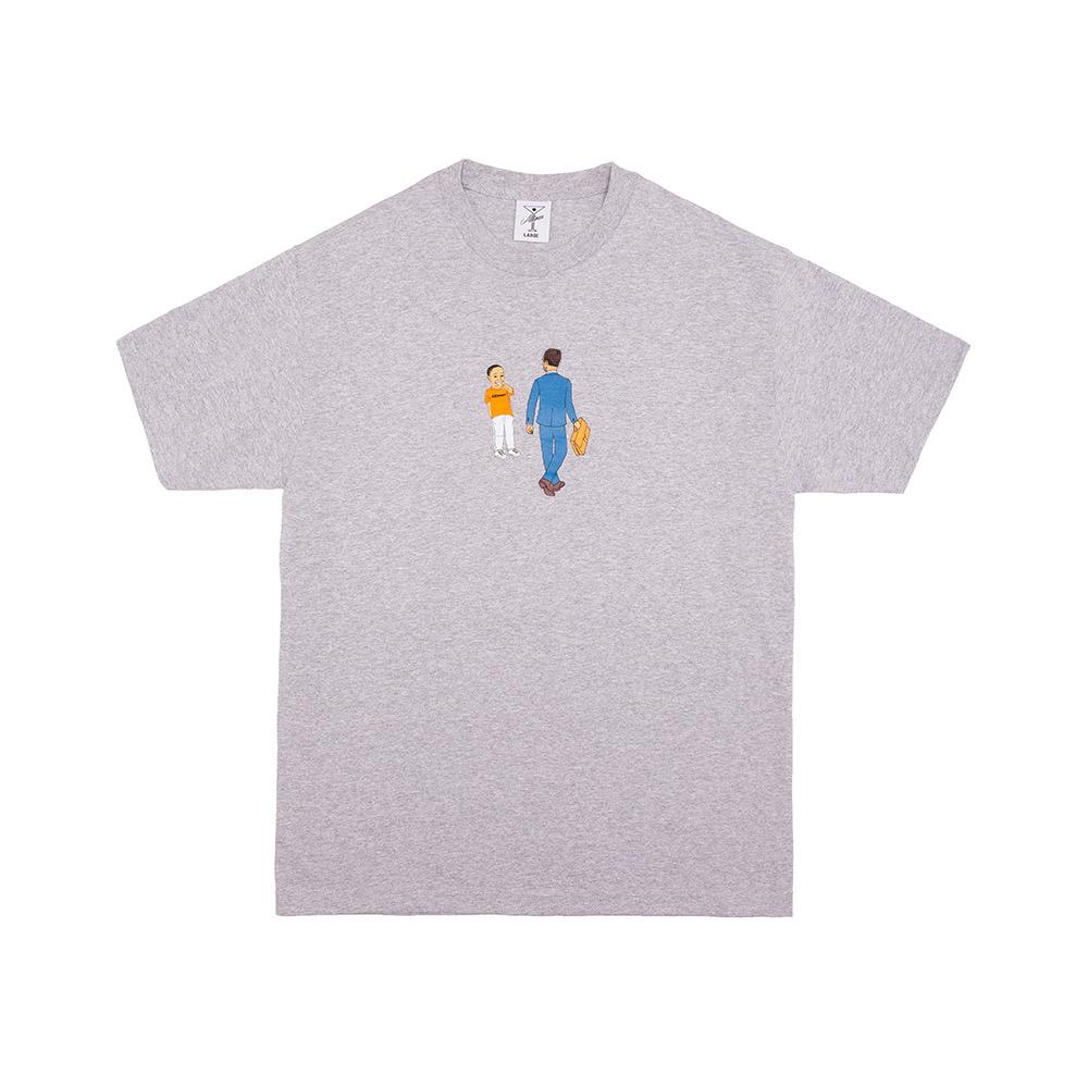 【ALLTIMERS/オールタイマーズ】LAUGHING AT OPPS TEE Tシャツ / HEATHER GREY