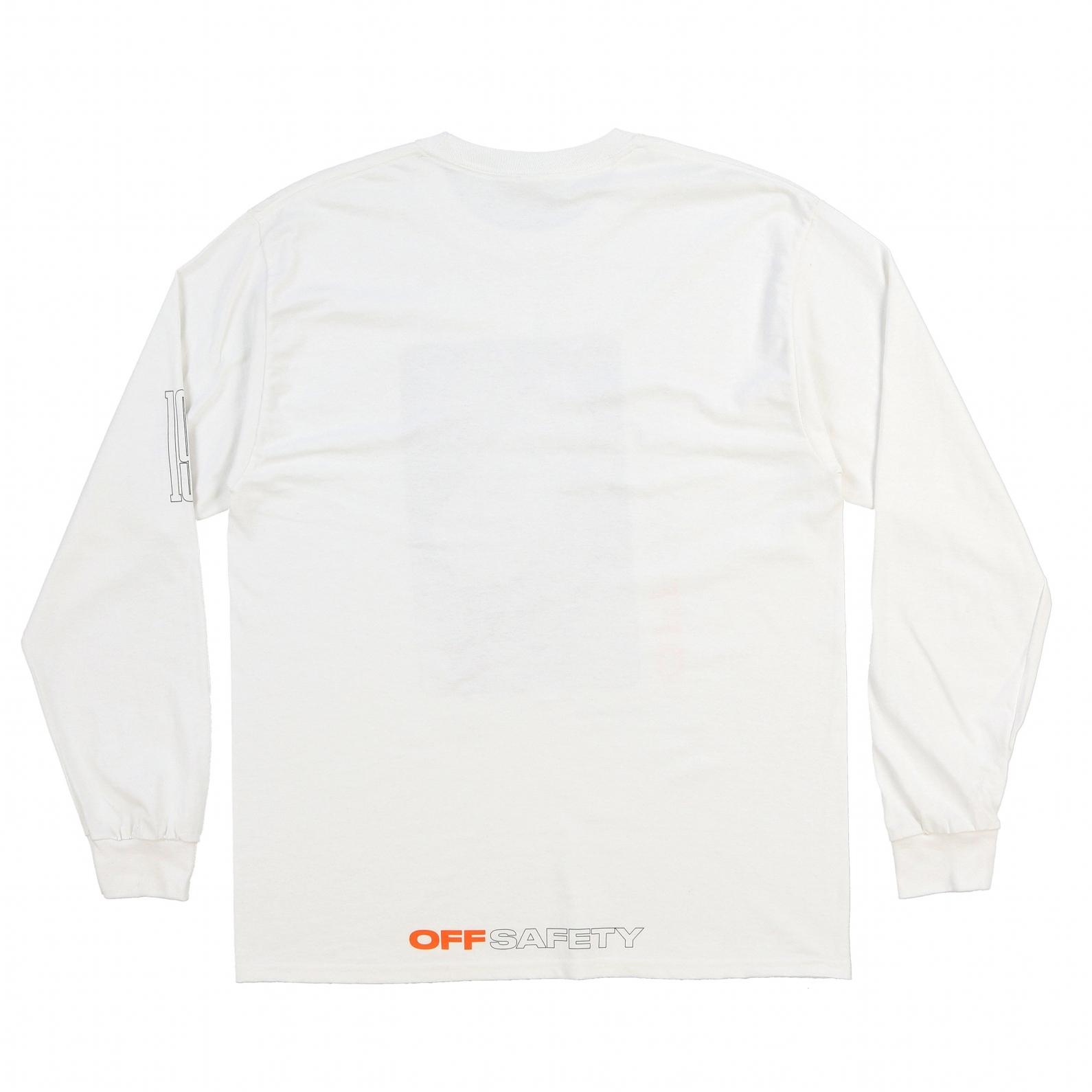 【OFF SAFETY/オフセーフティー】AALIYAH MISS U LS TEE 長袖Tシャツ / WHITE