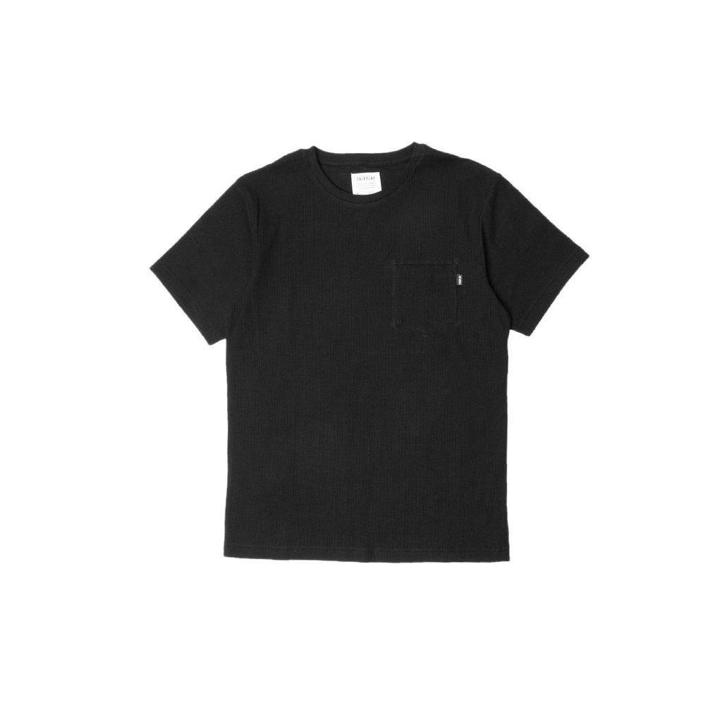 【FAIRPLAY BRAND/フェアプレイブランド】SHAW カットソーTシャツ / BLACK