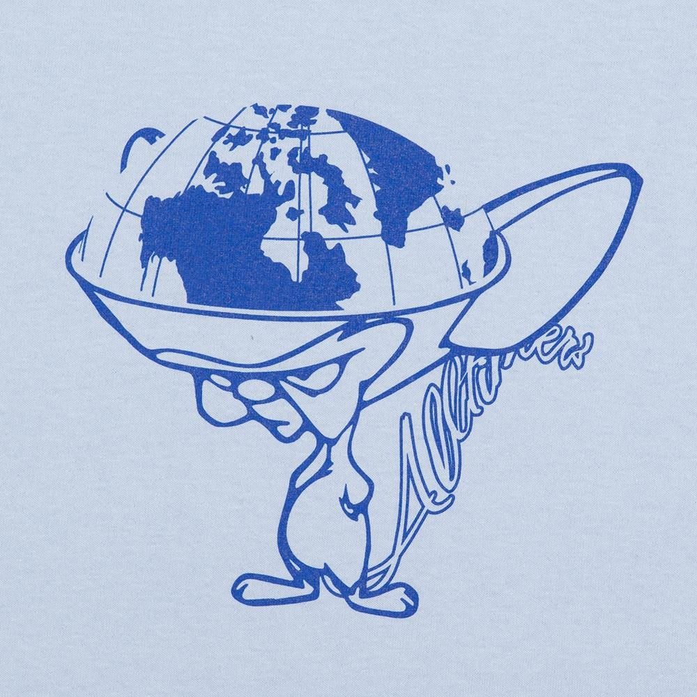 【ALLTIMERS/オールタイマーズ】EVIL GENIUS TEE Tシャツ / POWDER BLUE