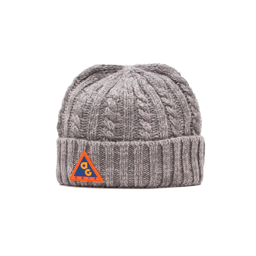 【ACAPULCO GOLD/アカプルコ ゴールド】AG ALL CONDITIONS CABLE HAT ニット帽 / MIX GREY