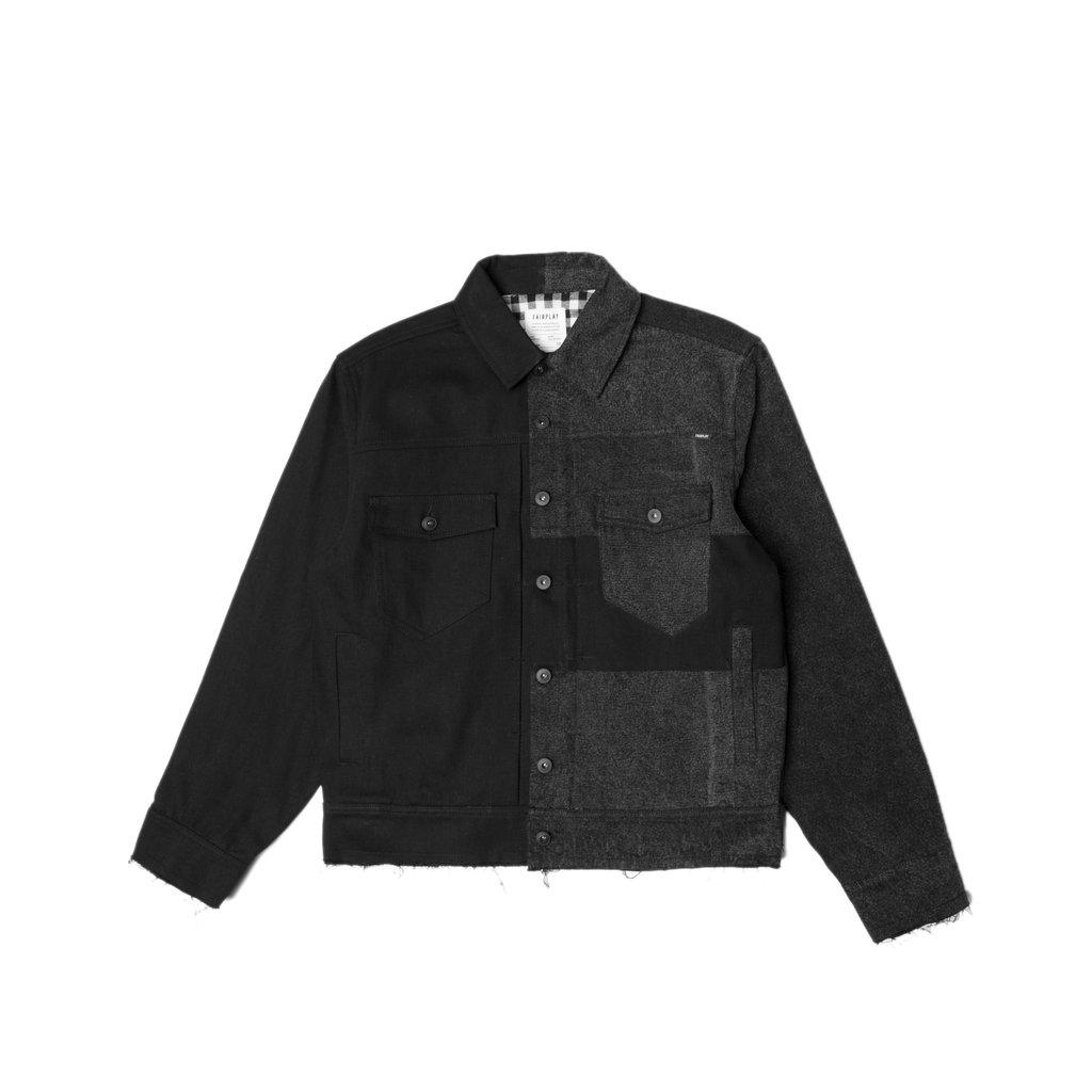 【FAIRPLAY BRAND/フェアプレイブランド】CHENOWETH デニムジャケット / BLACK