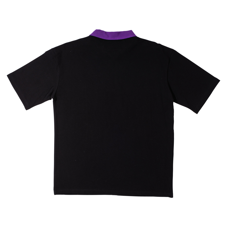 【PLEASURES/プレジャーズ】REVOLUTION POLO SHIRT ポロシャツ / BLACK