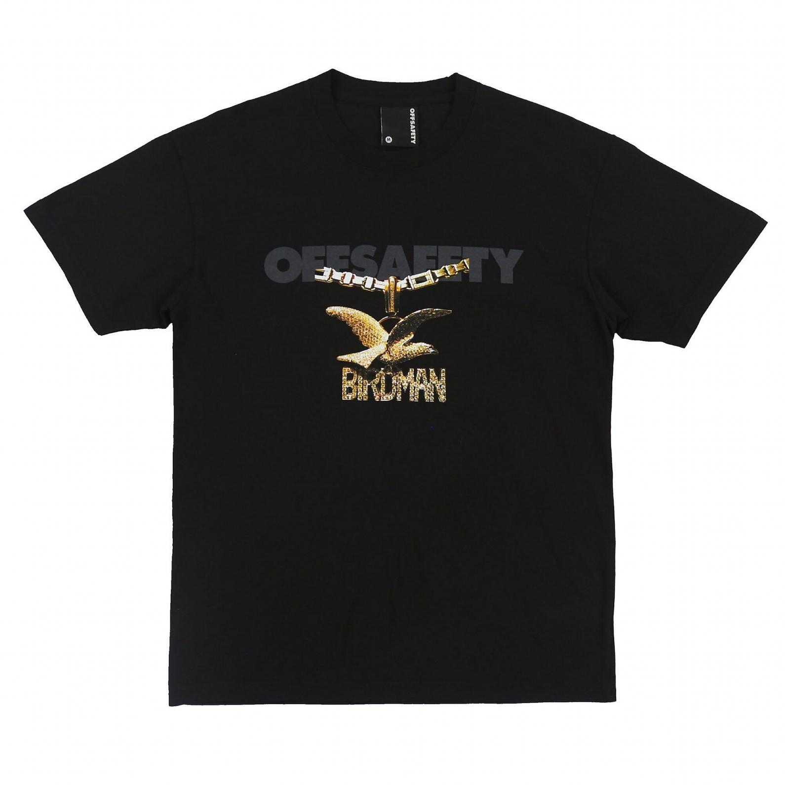 【OFF SAFETY/オフセーフティー】CHAIN GANG TEE Tシャツ / BLACK