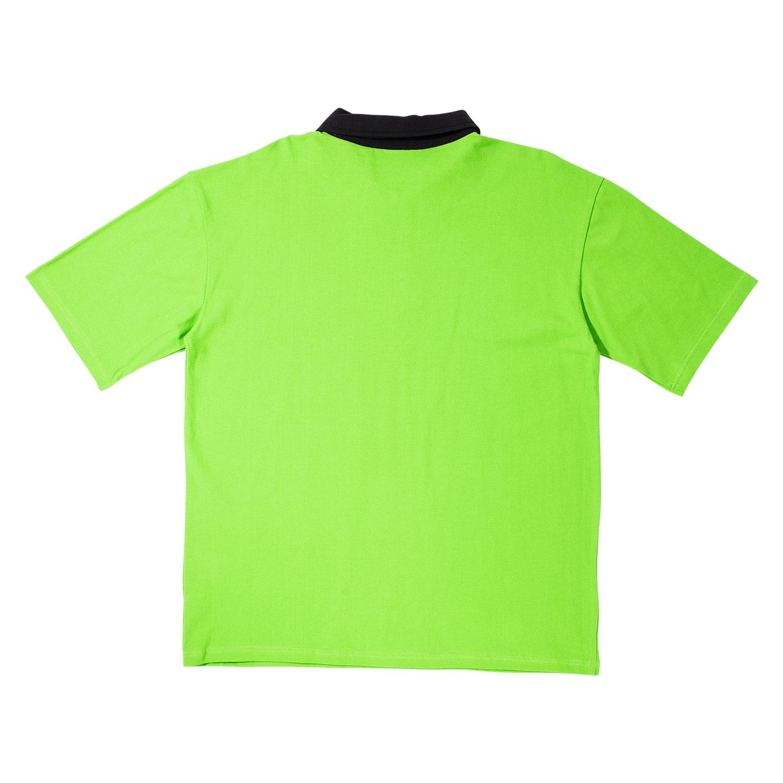 【PLEASURES/プレジャーズ】REVOLUTION POLO SHIRT ポロシャツ / BRIGHT GREEN