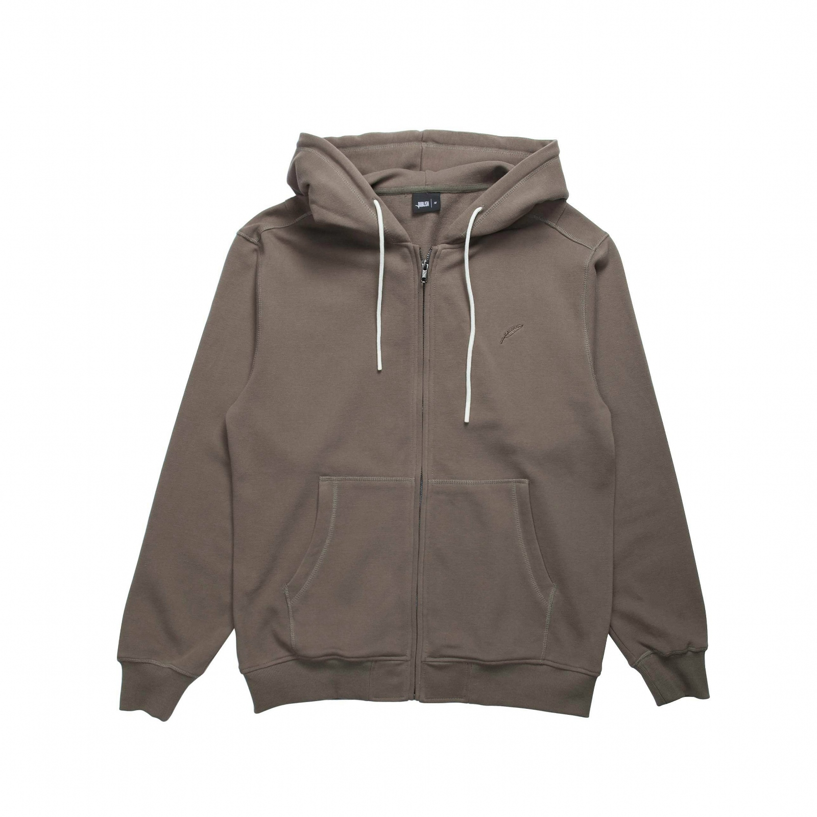 【PUBLISH BRAND/パブリッシュブランド】INDEX ZIP FLEECE HOODIE パーカー / OLIVE