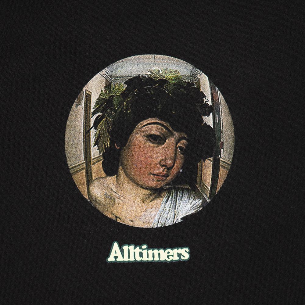 【ALLTIMERS/オールタイマーズ】2 AM WINE GOD HOODY パーカー / BLK