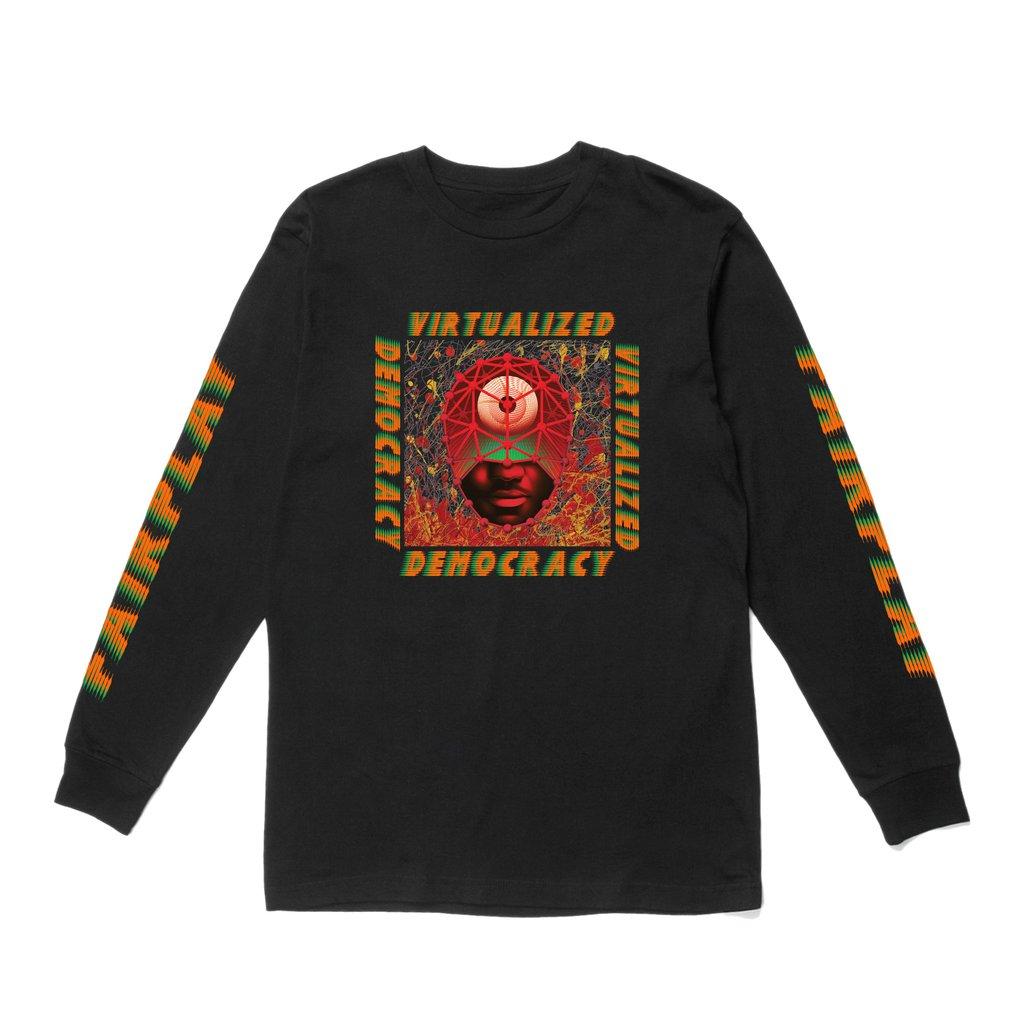 【FAIRPLAY BRAND/フェアプレイブランド】DEMOCRACY ロングTシャツ / BLACK