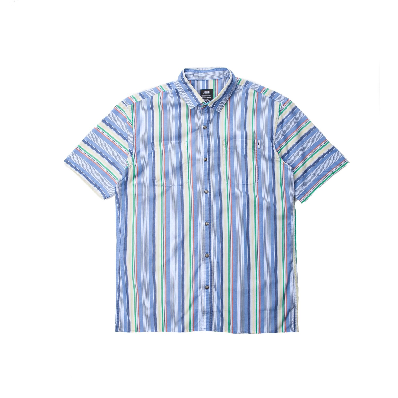 【PUBLISH BRAND/パブリッシュブランド】CAL 半袖シャツ / BLUE
