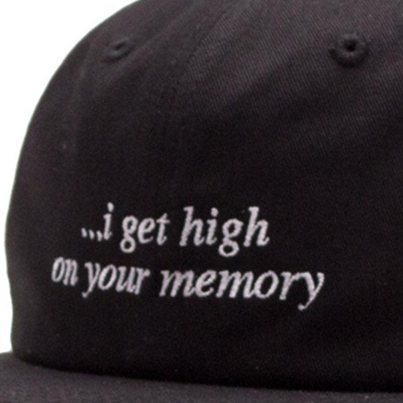 【ACAPULCO GOLD/アカプルコ ゴールド】GET HIGH TWILL 6 PANEL CAP ストラップバックキャップ / BLACK