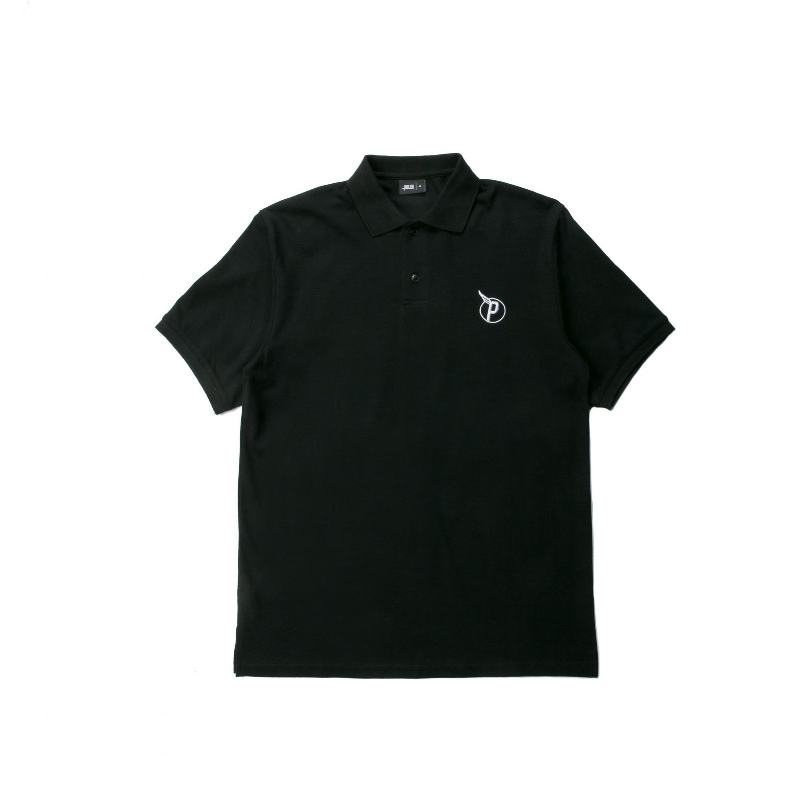 【PUBLISH BRAND/パブリッシュブランド】PRESS ポロシャツ / BLACK