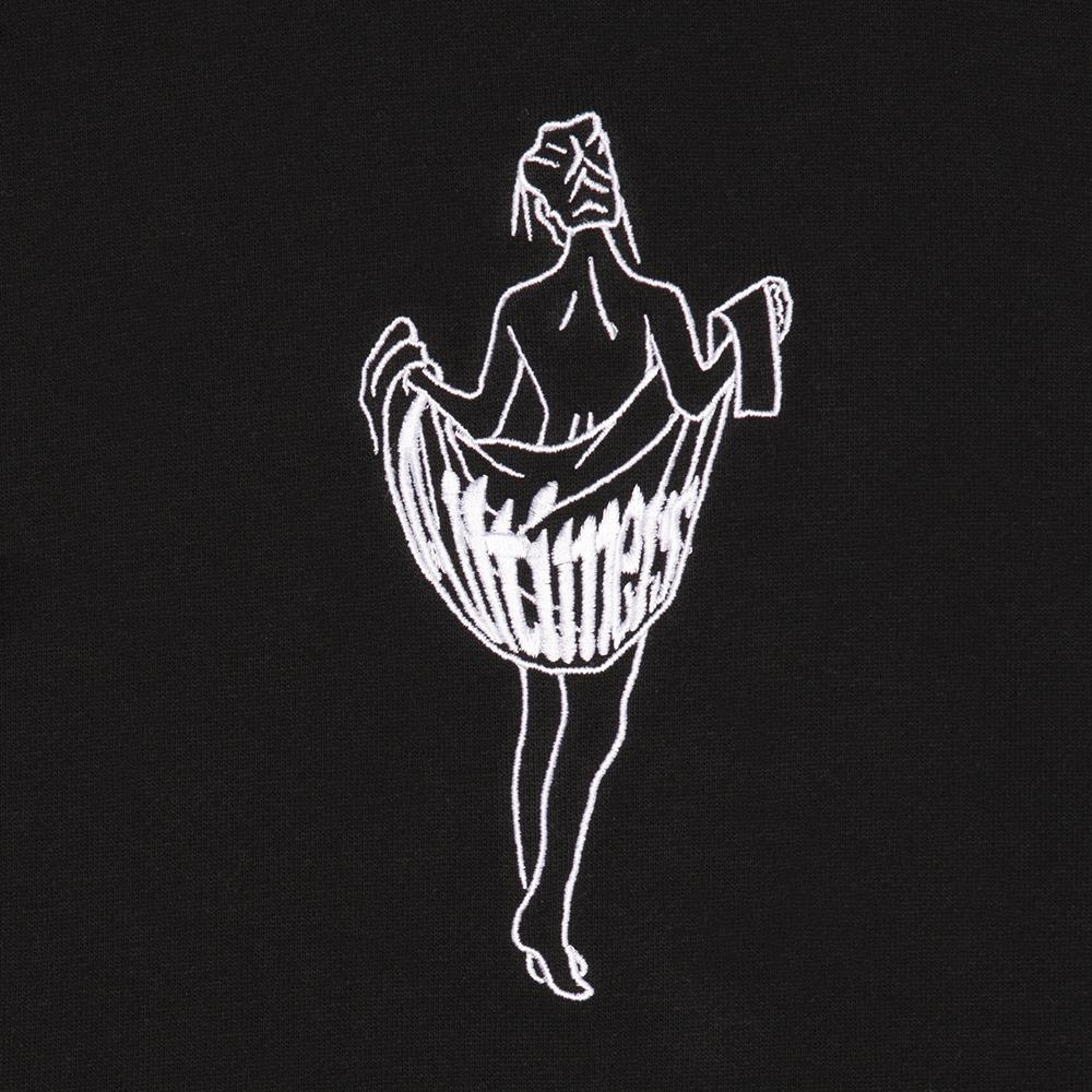 【ALLTIMERS/オールタイマーズ】OOH LA LA HOODY パーカー / BLACK