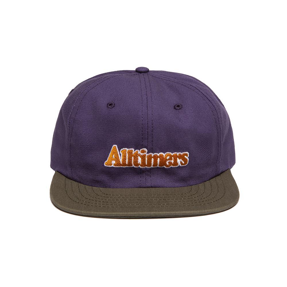 【ALLTIMERS/オールタイマーズ】BROADWAY HAT スナップバックキャップ / PURPLE ARMY GREEN