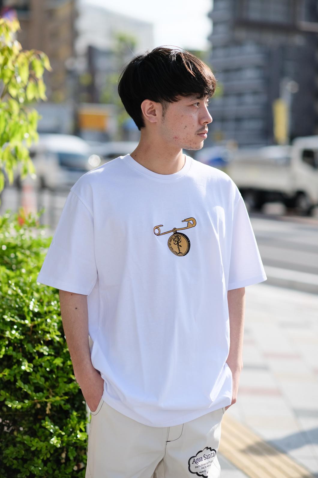 【PAS DE MER/パドゥメ】MEDALS T-SHIRT Tシャツ / WHITE
