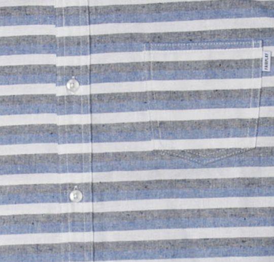 【FAIRPLAY BRAND/フェアプレイブランド】GUS 半袖シャツ / BLUE