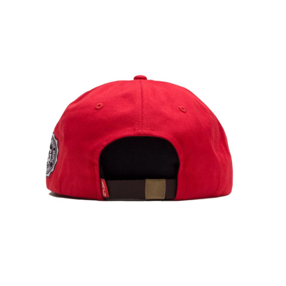 【ACAPULCO GOLD/アカプルコ ゴールド】GET HIGH TWILL 6 PANEL CAP ストラップバックキャップ / RED