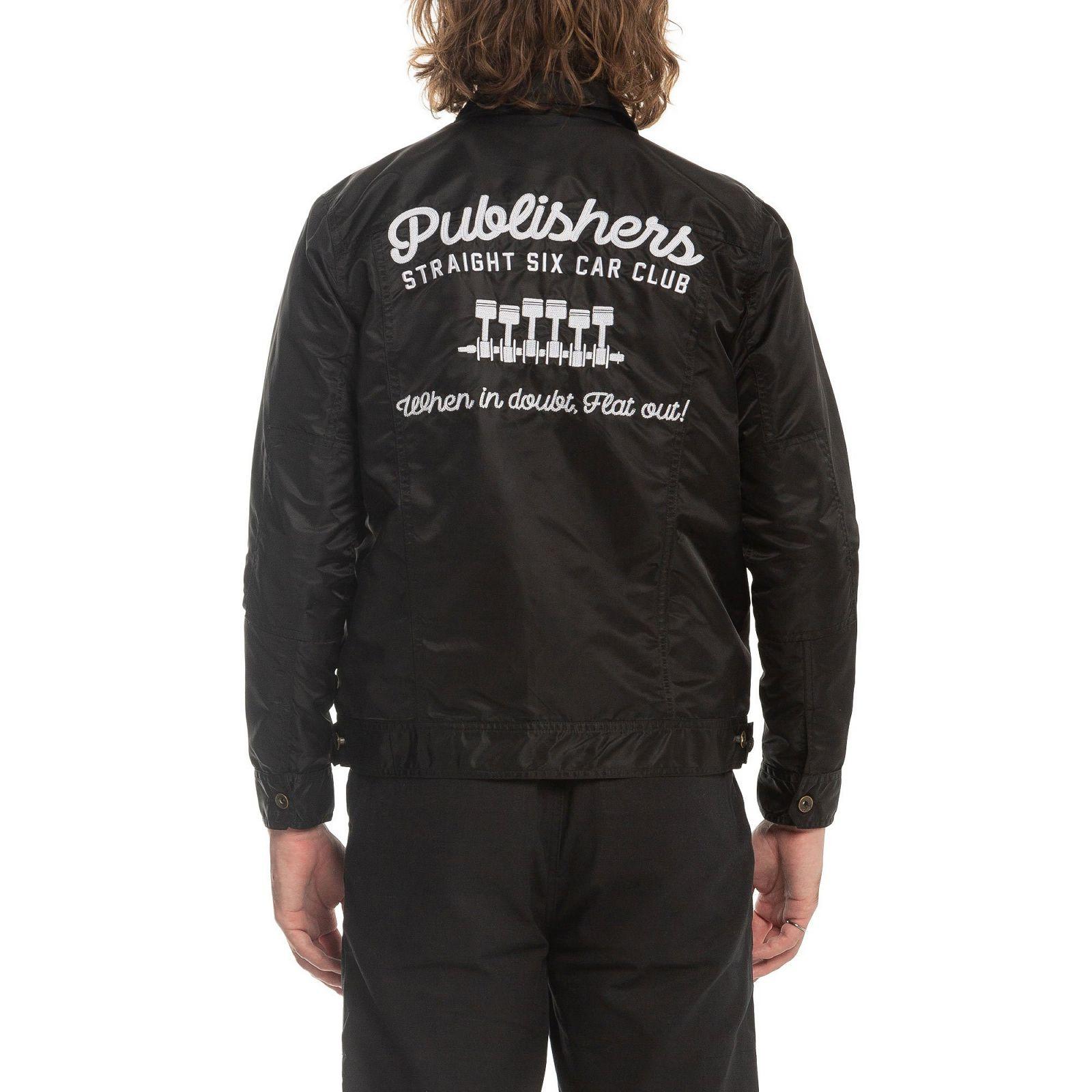【PUBLISH BRAND/パブリッシュブランド】CLUB  ナイロンワークジャケット / BLACK