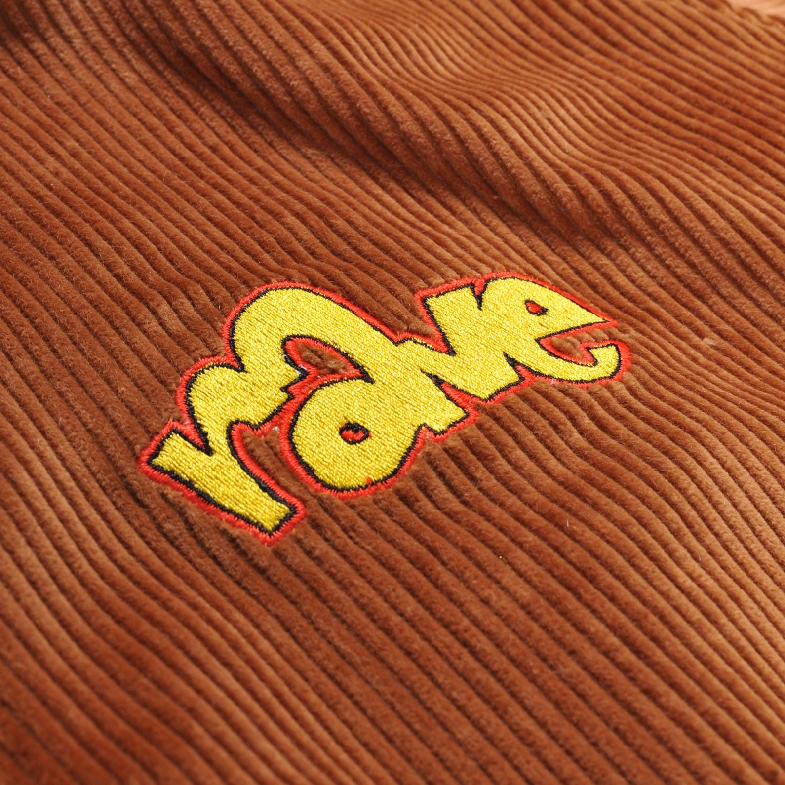 【RAVE SKATEBOARDS/レイブスケートボード】SPIKE CORDUROY REVERSIBLE  コーデュロイリバーシブルジャケット / CAMEL
