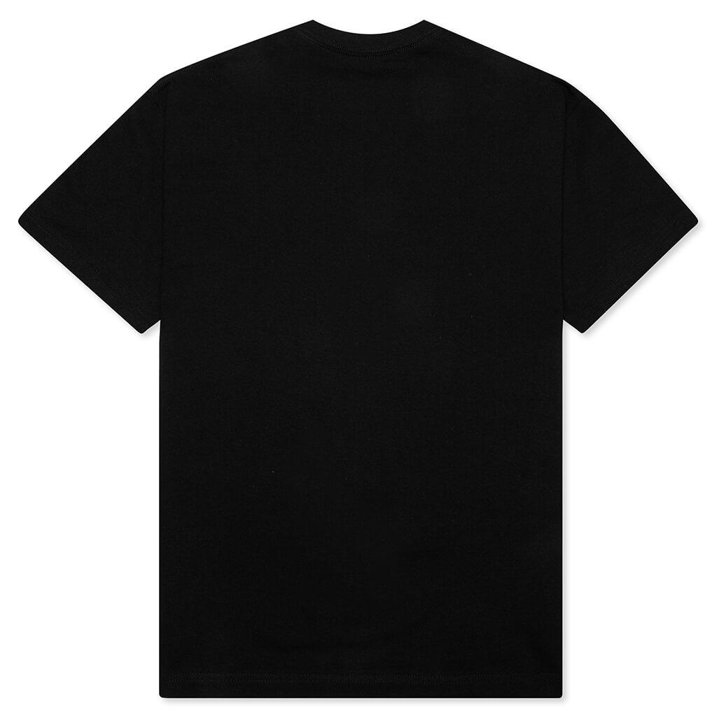 【PLEASURES/プレジャーズ】FLAMEBOY T-SHIRT Tシャツ / BLACK