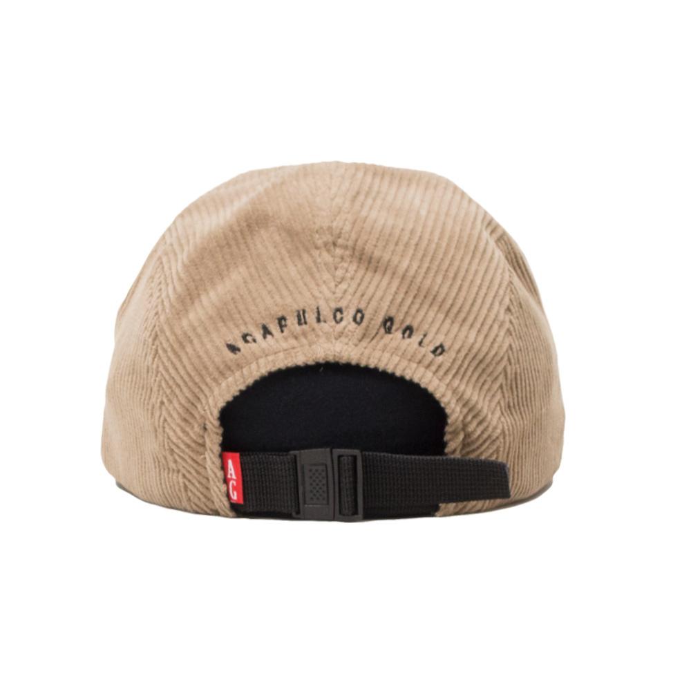 【ACAPULCO GOLD/アカプルコ ゴールド】AG CORDUROY CAMP CAP ストラップバックキャップ / KHAKI