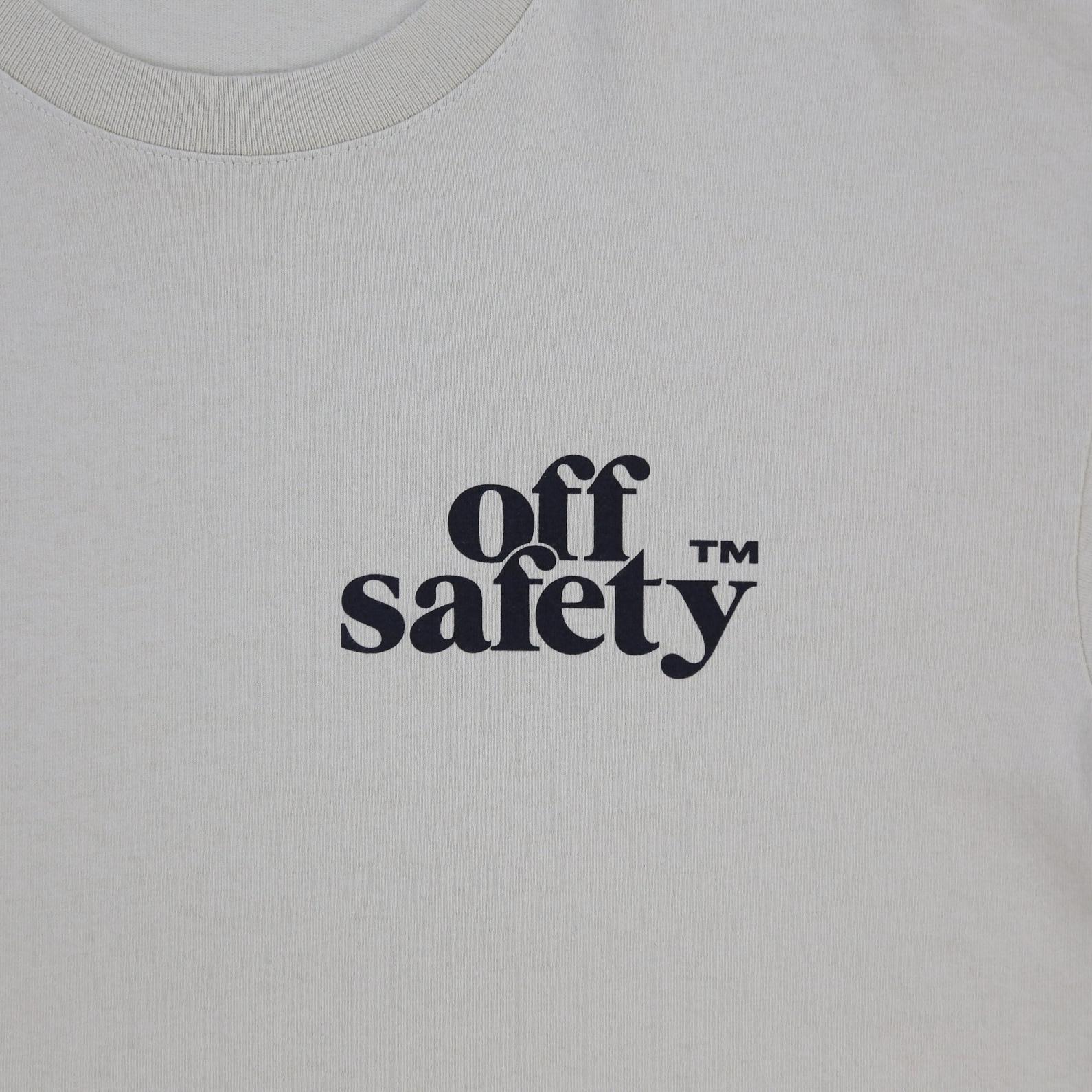 【OFF SAFETY/オフセーフティー】SHOOT FIRST TEE Tシャツ / CREAM