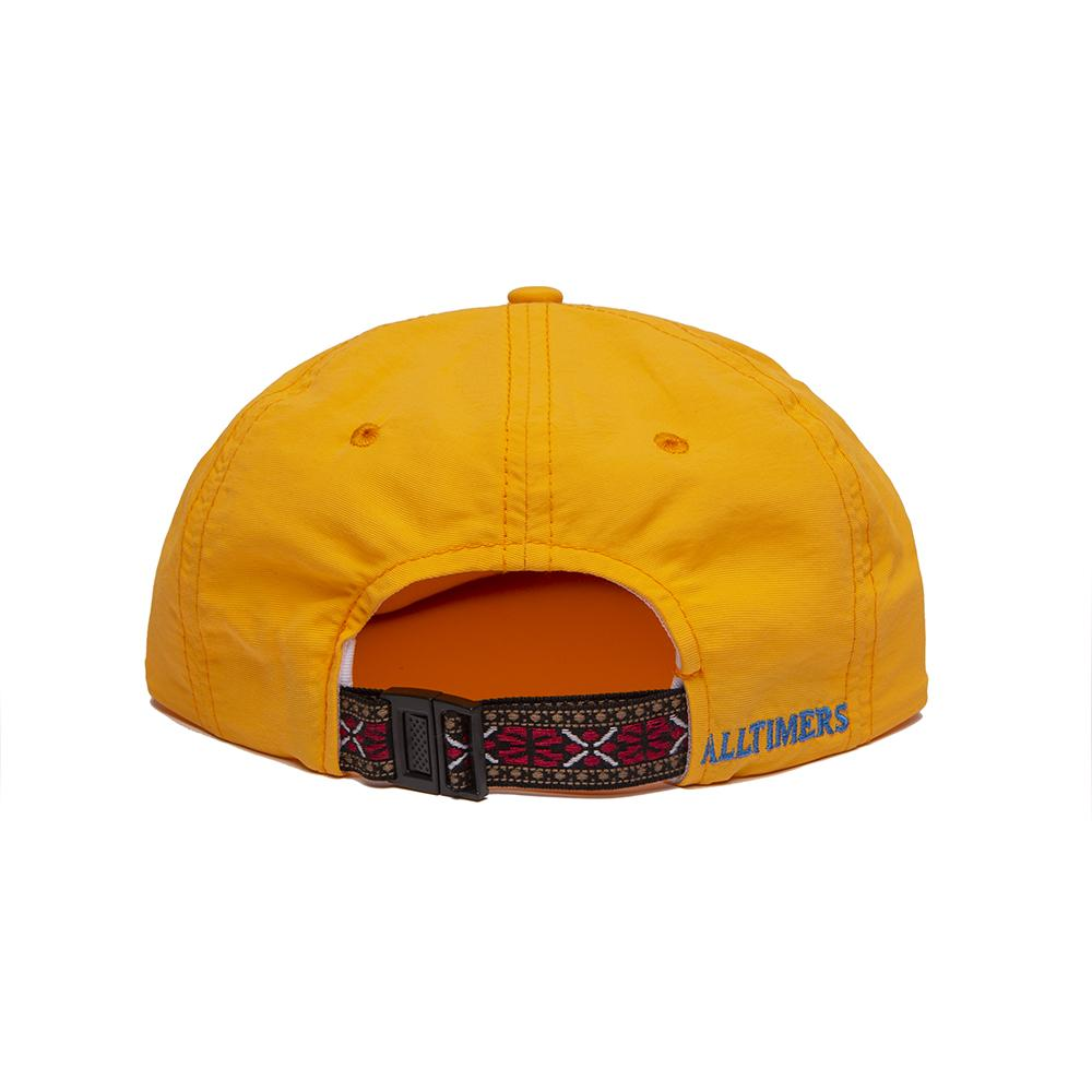 【ALLTIMERS/オールタイマーズ】BACKSIDE HAT ストラップバックキャップ / GOLD