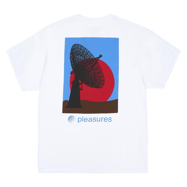 【PLEASURES/プレジャーズ】COMMUNICATION T-SHIRT Tシャツ / WHITE