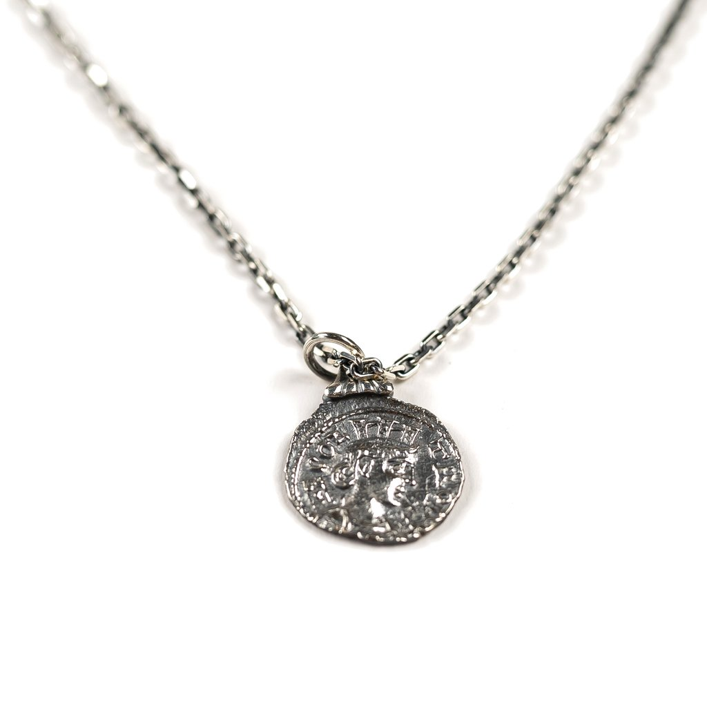 【RAISED BY WOLVES/レイズドバイウルブス】COIN PENDANT ペンダント / STERLING SILVER