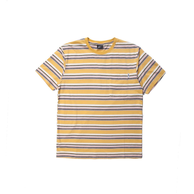 【PUBLISH BRAND/パブリッシュブランド】AGUIE カットソーTシャツ / YELLOW