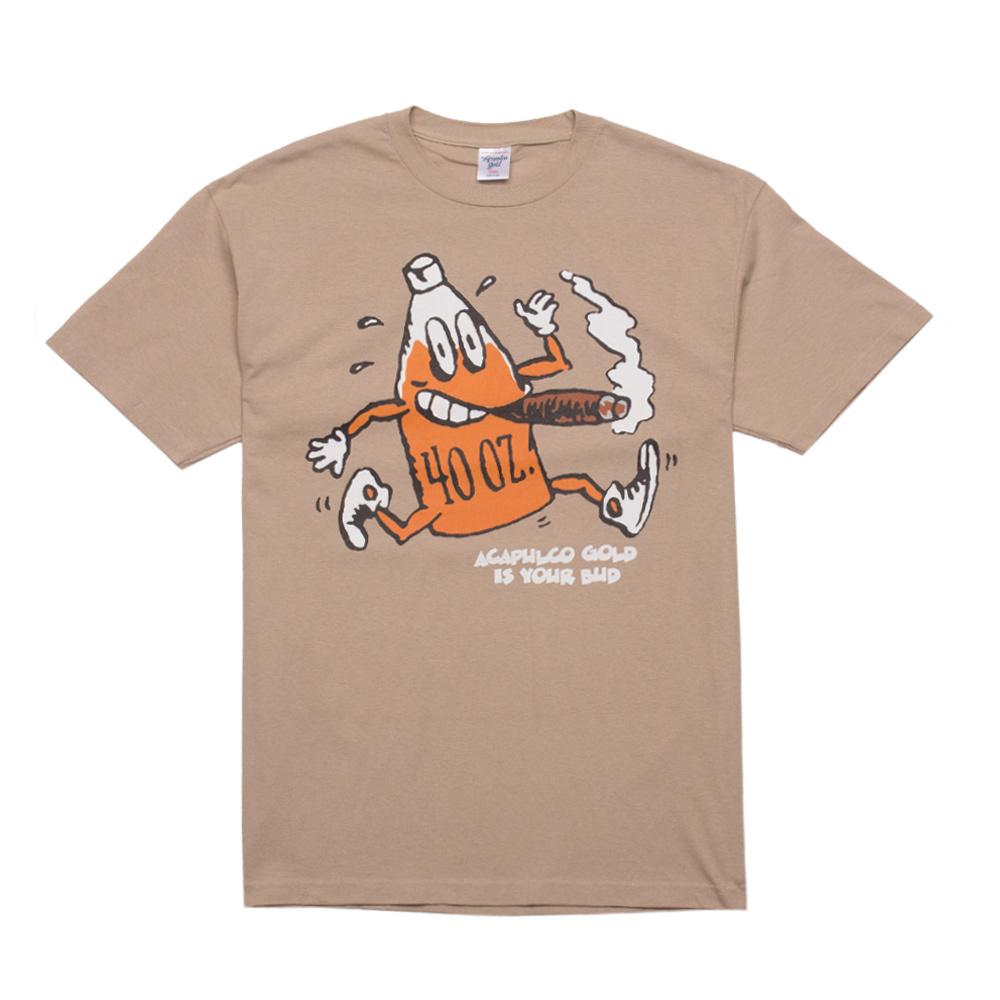 【ACAPULCO GOLD/アカプルコ ゴールド】BUD TEE Tシャツ / KHAKI