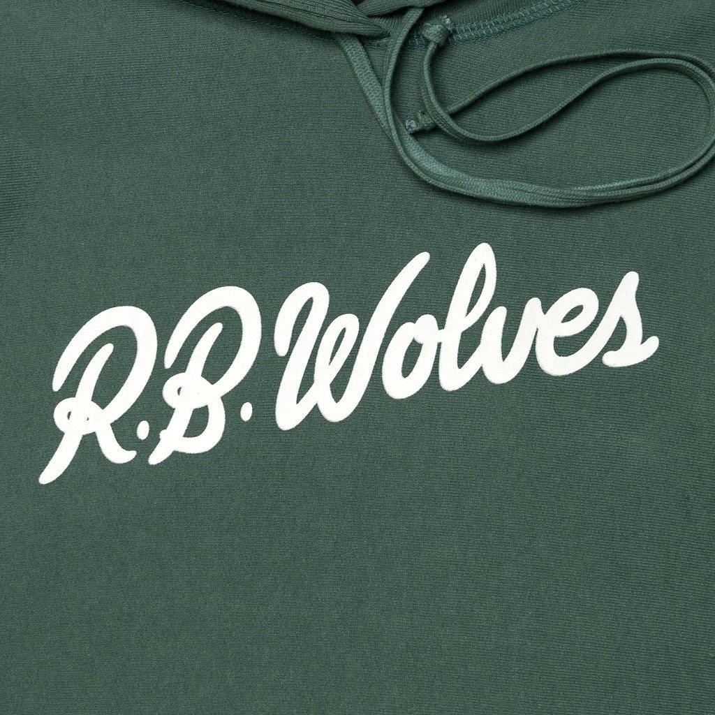 【RAISED BY WOLVES/レイズドバイウルブス】SIGNATURE HOODED SWEATSHIRT バーカー / MOSS