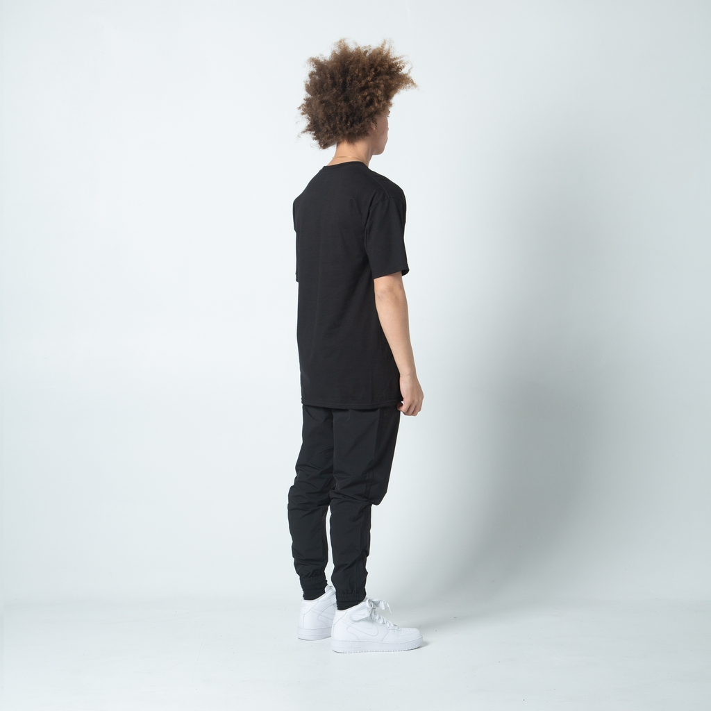 【FAIRPLAY BRAND/フェアプレイブランド】TIME IS UP  Tシャツ / BLACK