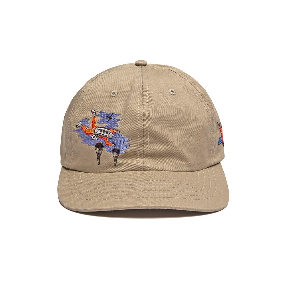 【ALLTIMERS/オールタイマーズ】SKY DROP HAT ストラップバックキャップ / TAN