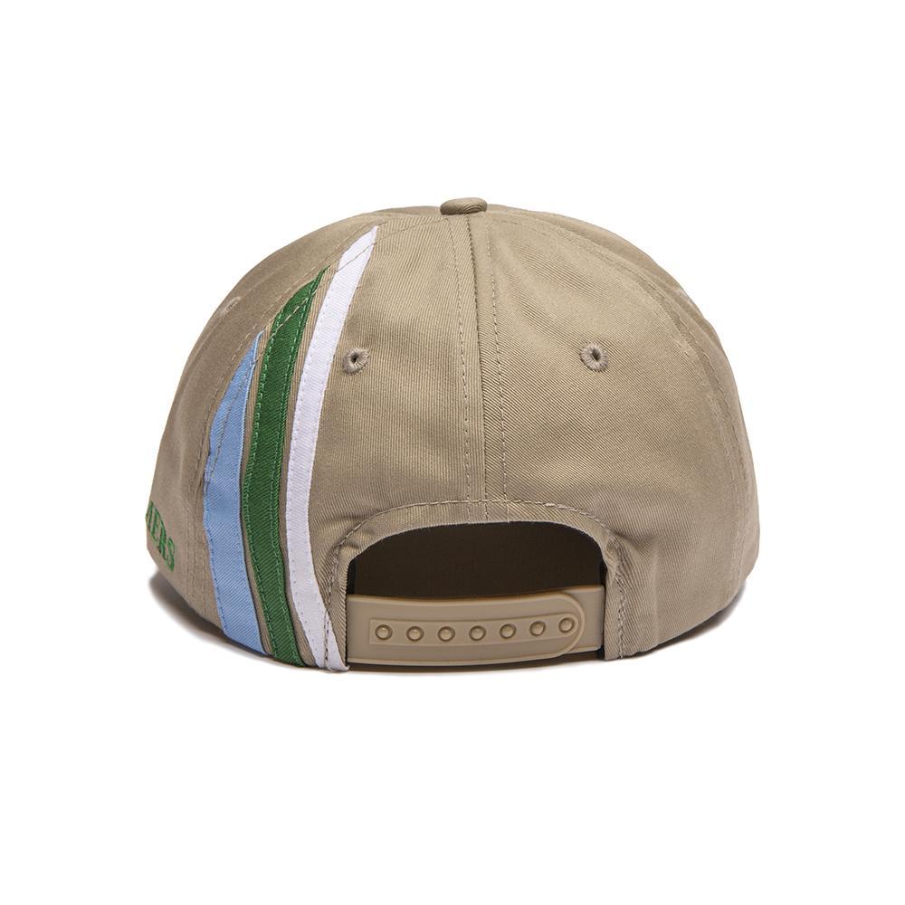 【ALLTIMERS/オールタイマーズ】LINED UP HAT スナップバックキャップ / TAN