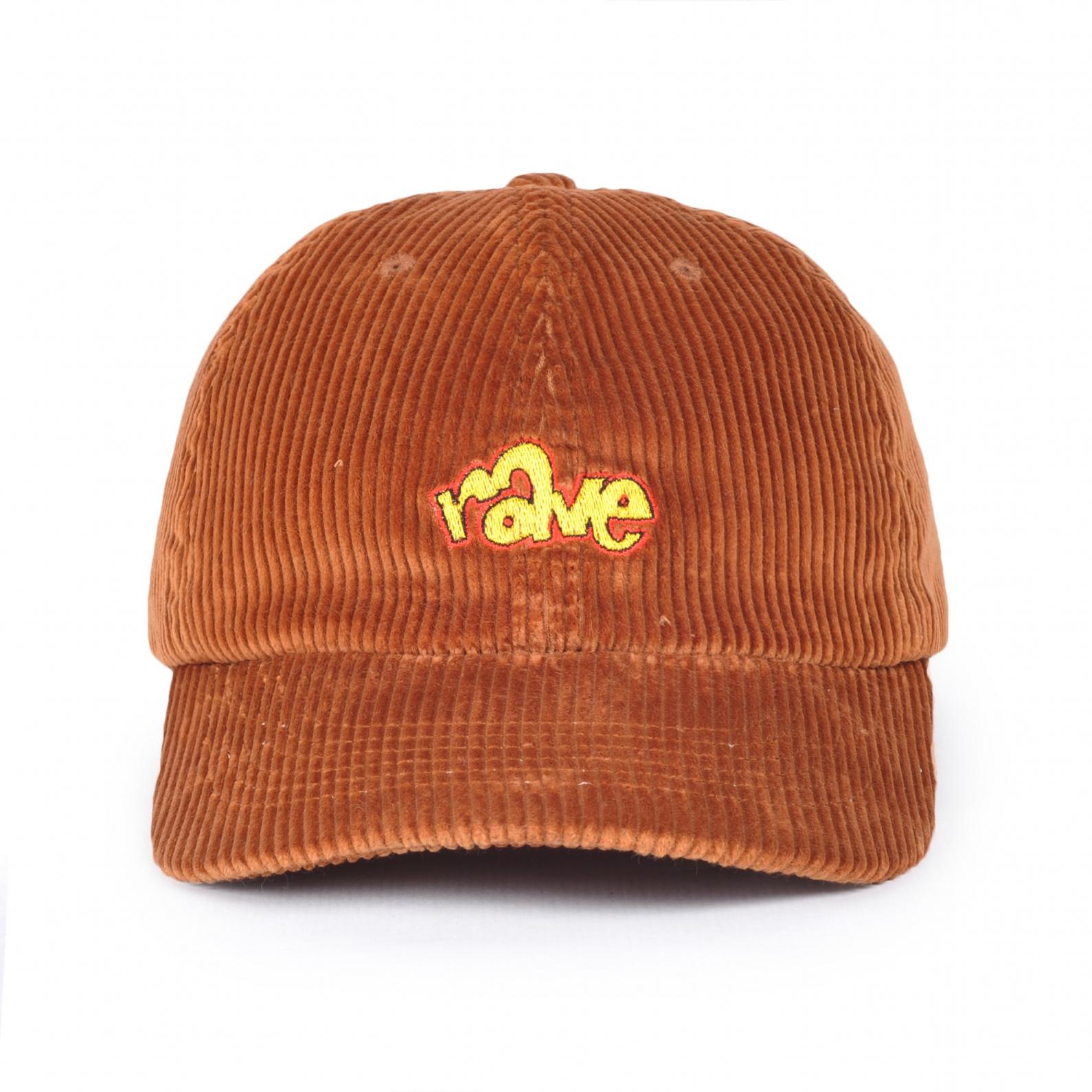 【RAVE SKATEBOARDS/レイブスケートボード】SPIKE CORDUROY CAP コーデュロイダドキャップ / CAMEL