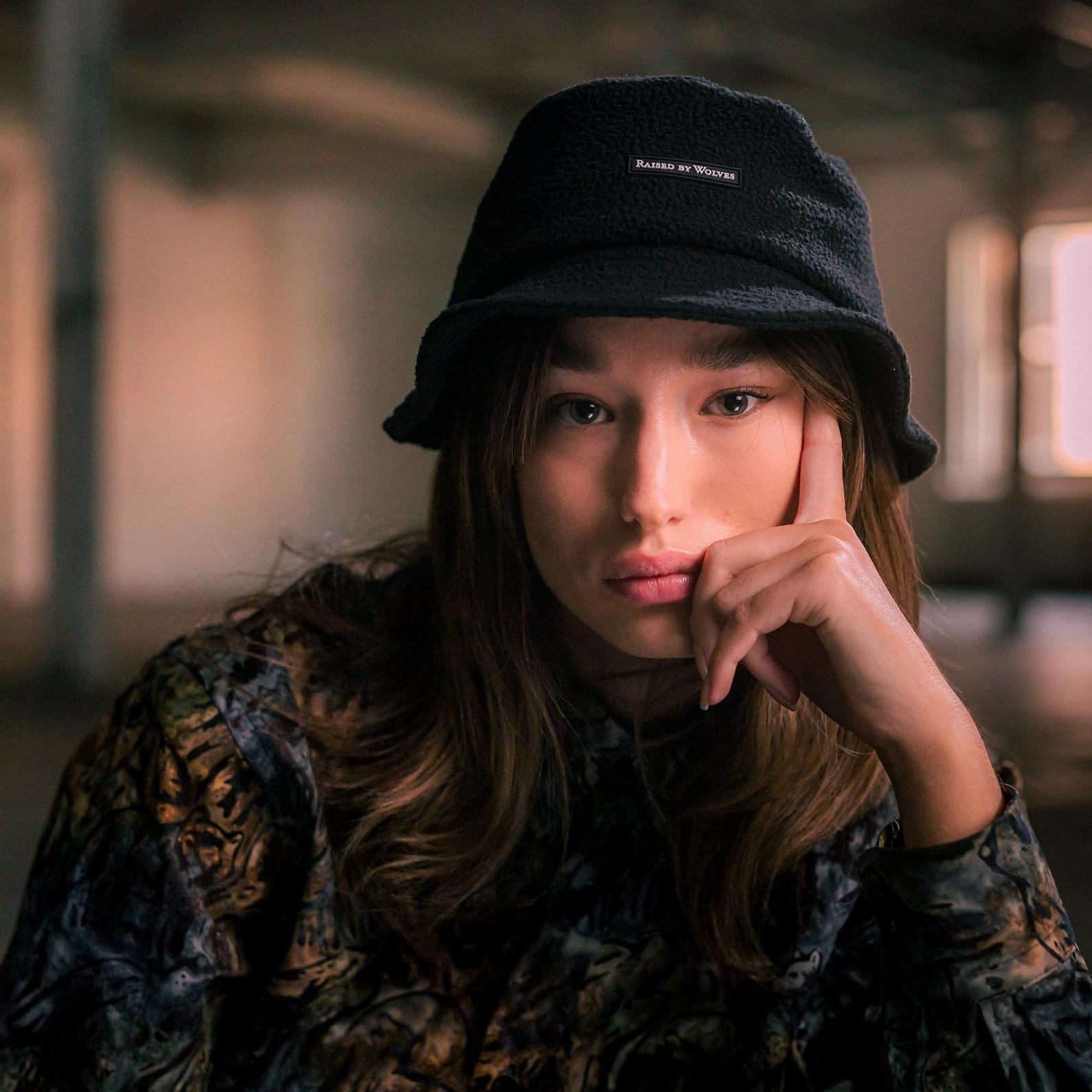 【RAISED BY WOLVES/レイズドバイウルブス】POLARTEC BUCKET HAT バケットハット / BLACK