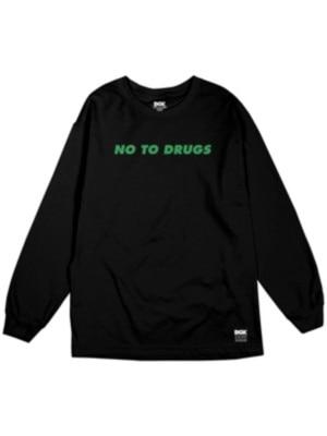 【DGK/ディージーケー】DGK NO TO DRUGS L/S ロングTシャツ / BLACK