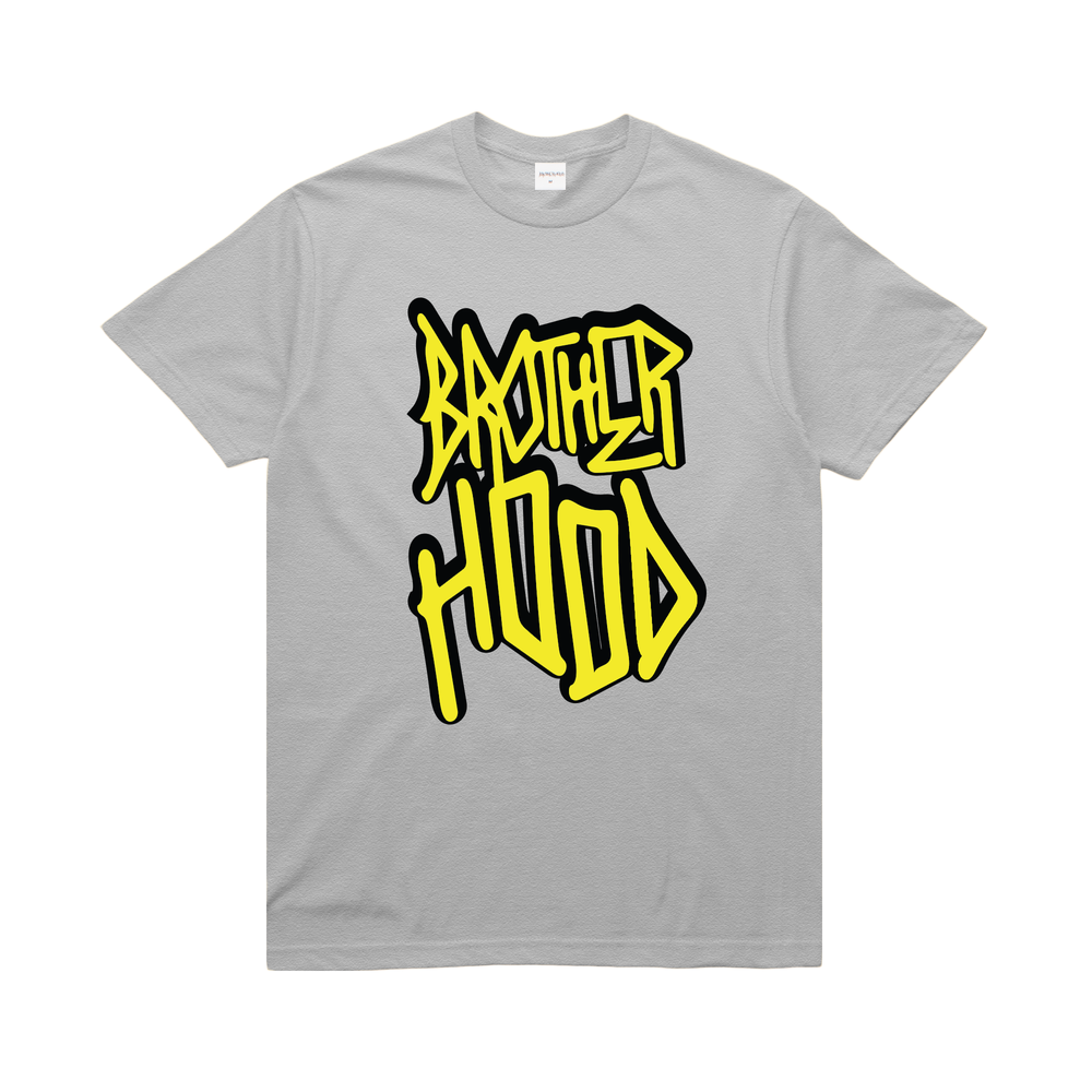 【BROTHER HOOD/ブラザーフッド】ICONIC STACKED T-SHIRT Tシャツ / ASH GREY