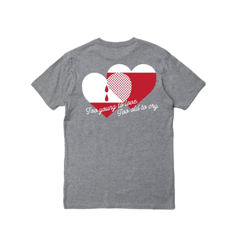 【PUBLISH BRAND/パブリッシュブランド】HEART Tシャツ / BLACK