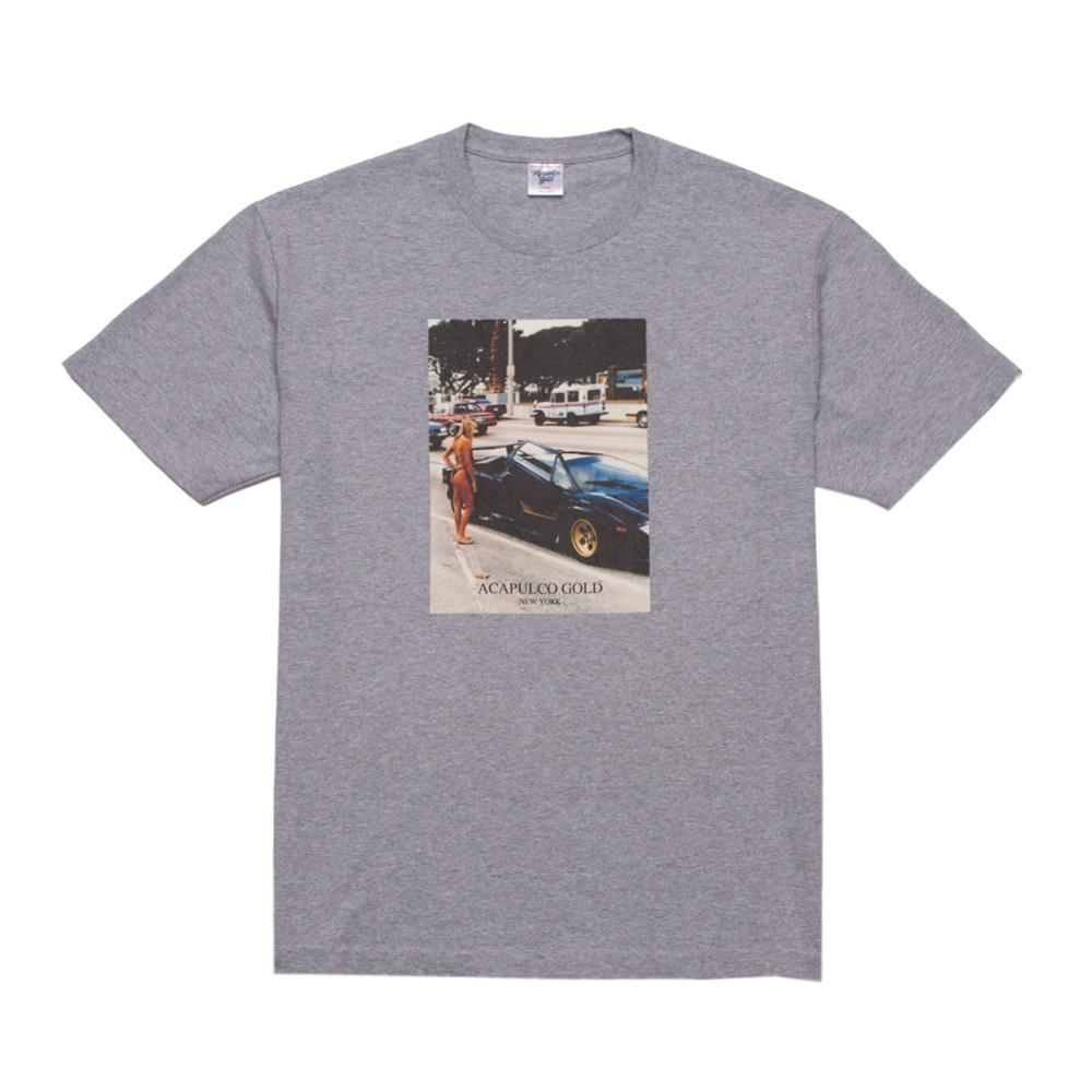 【ACAPULCO GOLD/アカプルコ ゴールド】PICK UP TEE Tシャツ / HEATHER GREY