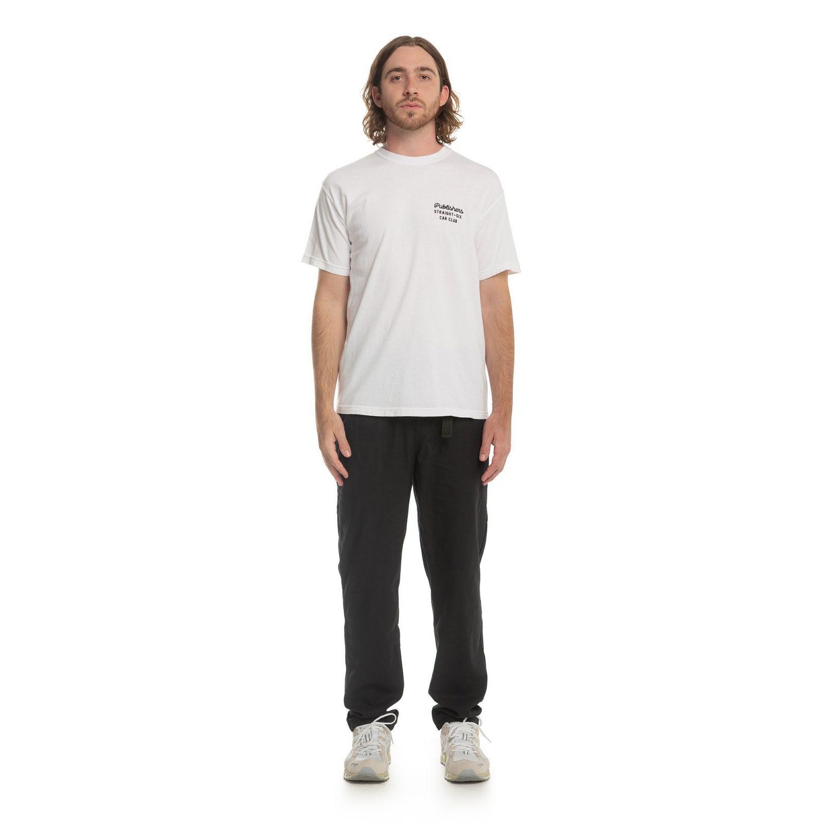 【PUBLISH BRAND/パブリッシュブランド】CAR CLUB Tシャツ / WHITE