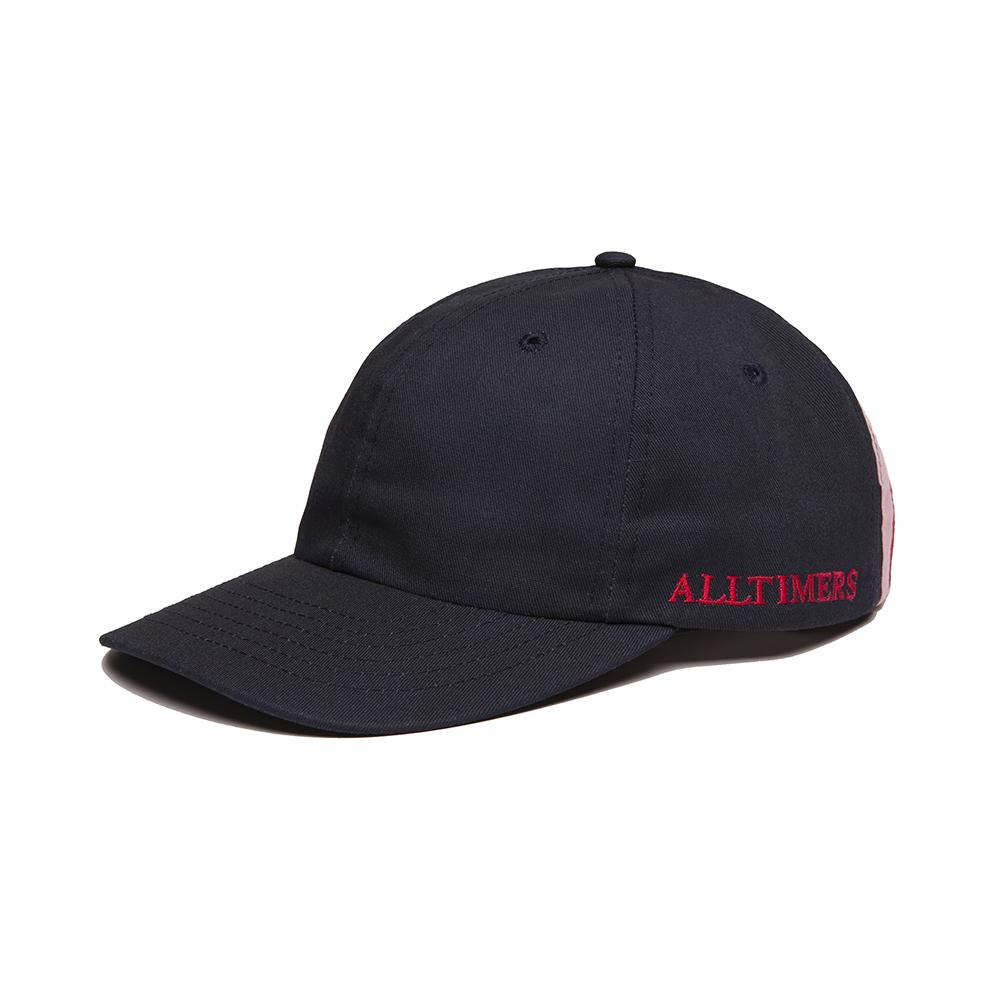 【ALLTIMERS/オールタイマーズ】LINED UP HAT スナップバックキャップ / NAVY