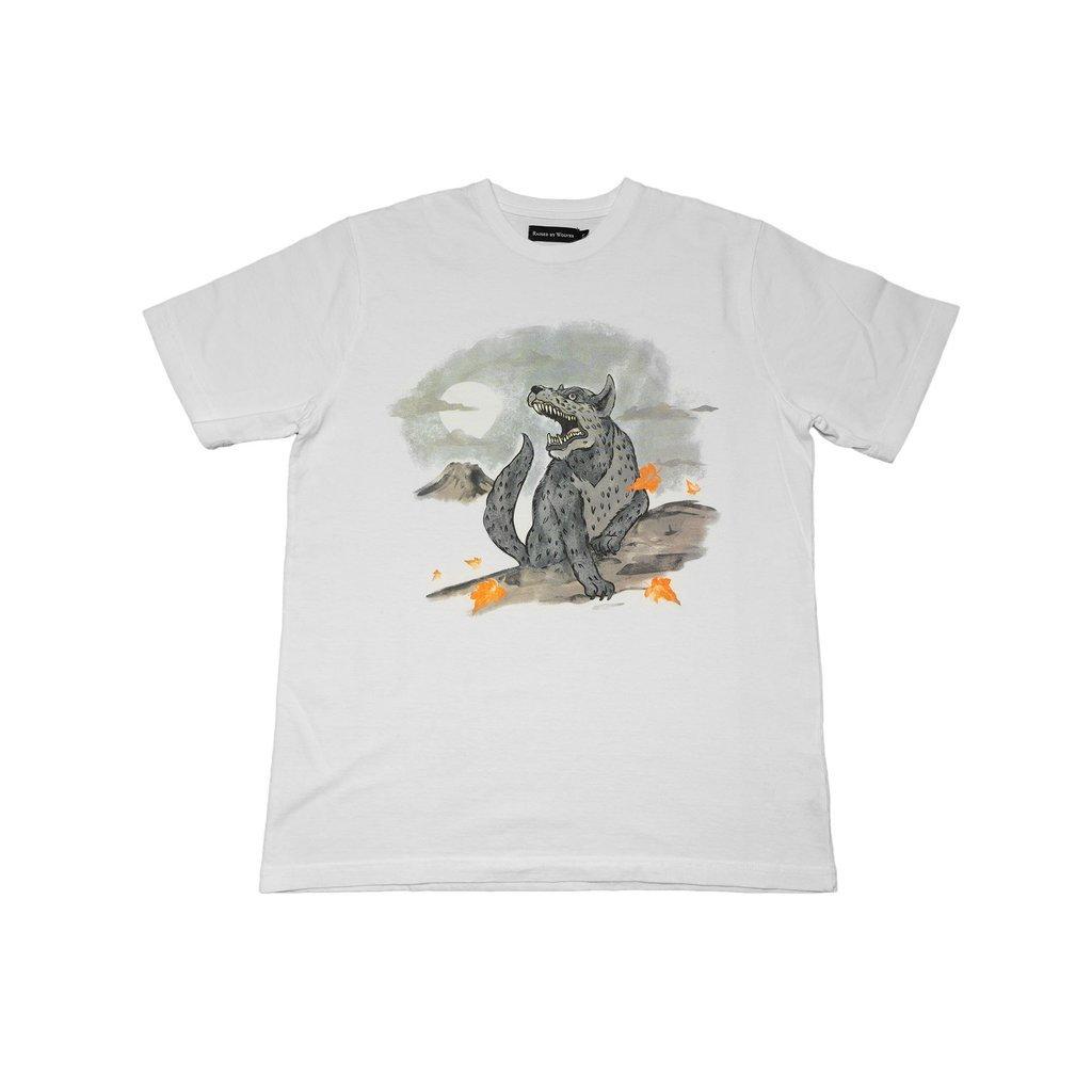 【RAISED BY WOLVES/レイズドバイウルブス】SOUVENIR REDUX T-SHIRT Tシャツ / WHITE