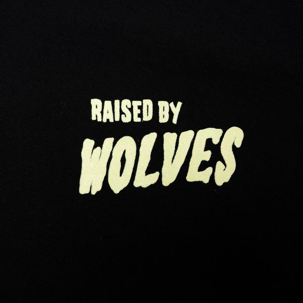 【RAISED BY WOLVES/レイズドバイウルブス】FRIGHTENSTEIN TEE Tシャツ / BLACK