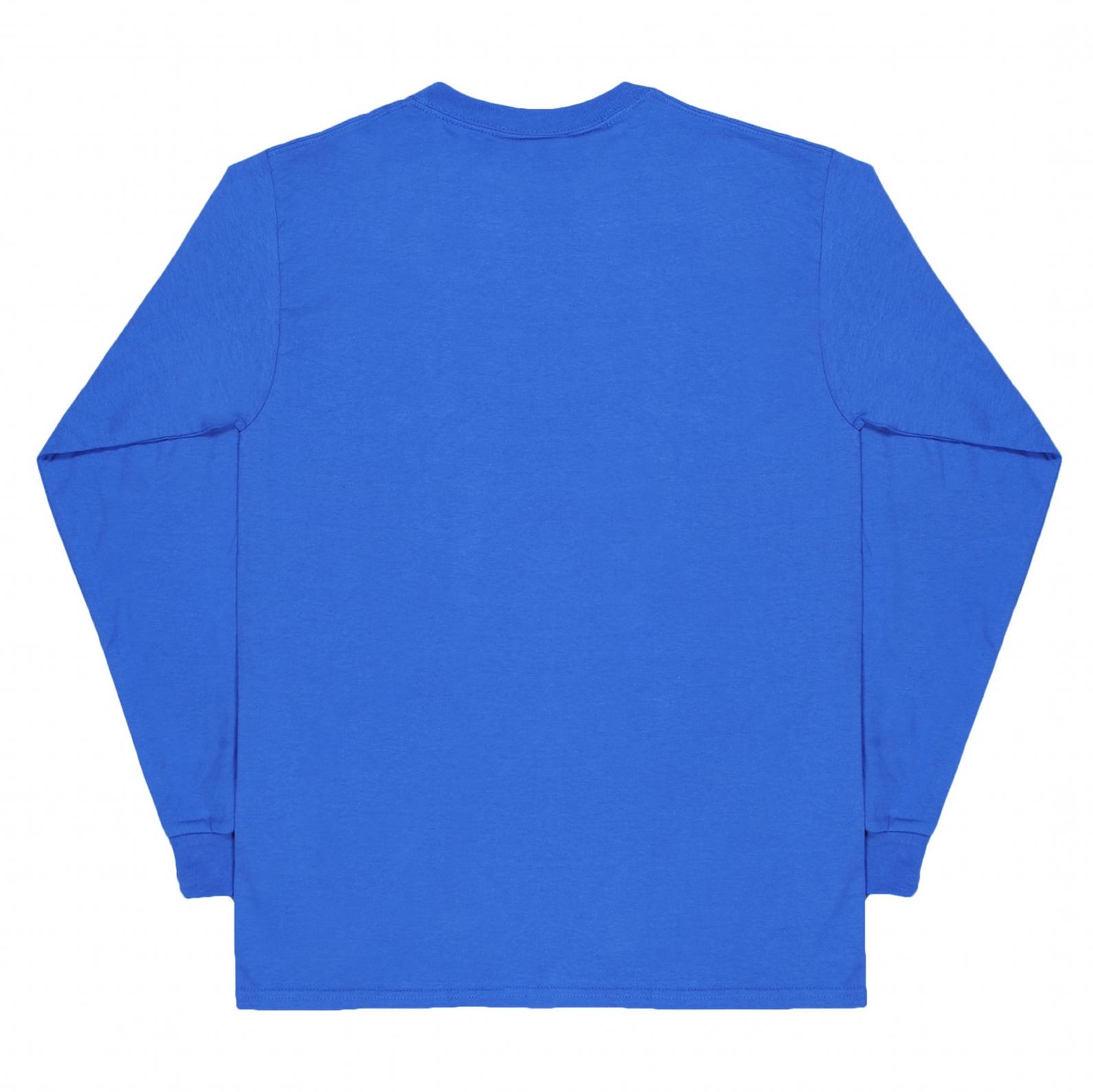 【RAVE SKATEBOARDS/レイブスケートボード】CAVENDOLI  ロングTシャツ / ROYAL BLUE