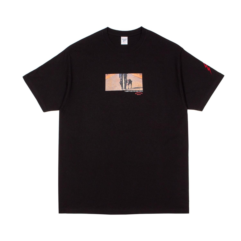 【ACAPULCO GOLD/アカプルコ ゴールド】ON THE ROAD AGAIN TEE Tシャツ / BLACK