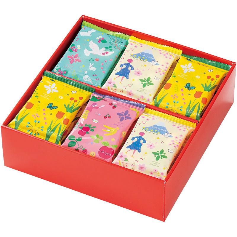 B3013 花吹寄せ 化粧箱24袋入り