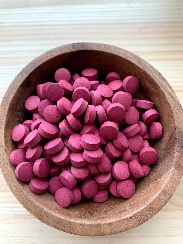 北海道赤ビーツタブレット(缶入り)